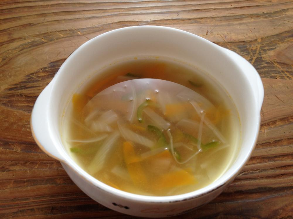 天たつの蟹身入りカニみそを使った、野菜こんもり♪ホクホクあったまるカニみそ野菜スープのレシピです