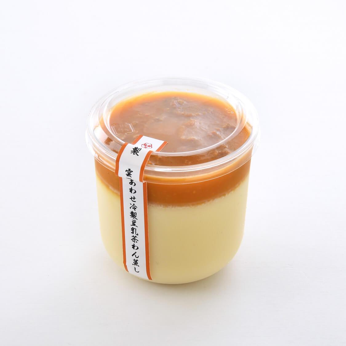 雲丹あわせ冷製豆乳茶碗蒸し1食分